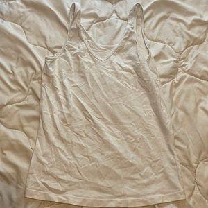 white Tank top, size medium.